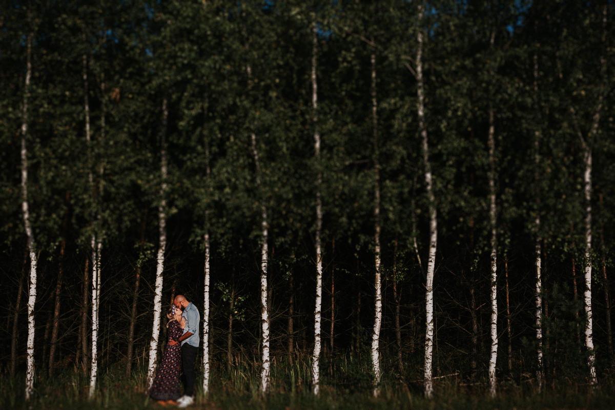 sesja narzeczenska pustynia bledowska slubna fotografia malopolska